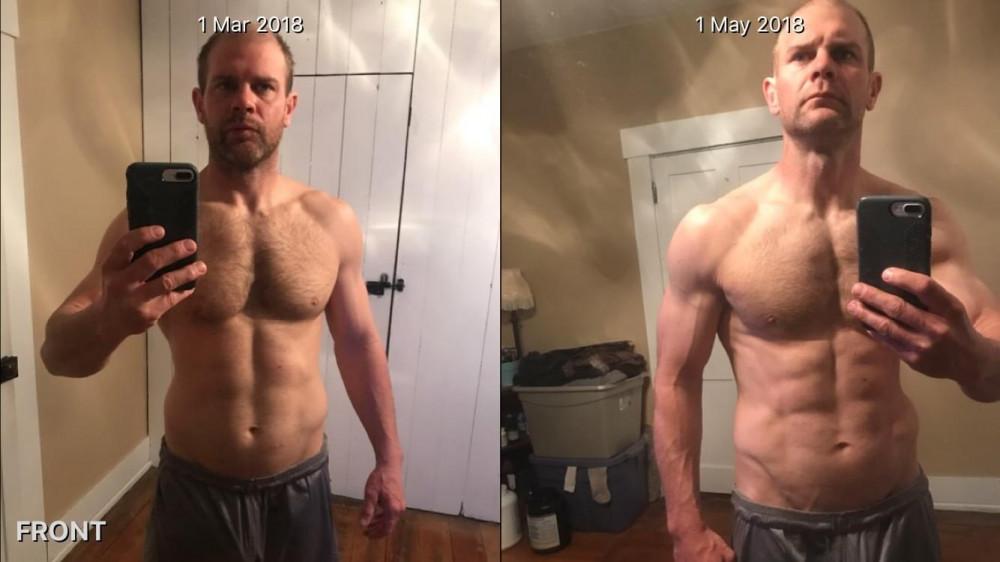 Chris's 2-Month Transform Using Minimalist Muscle Blitz