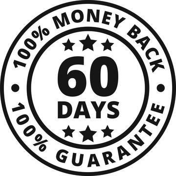 60-Day 100% Money Back Gurantee
