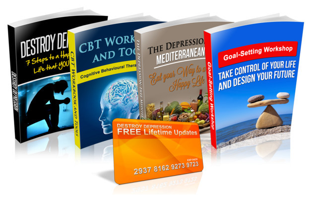 The Main Destroy Depression Book and 4 Bonuses