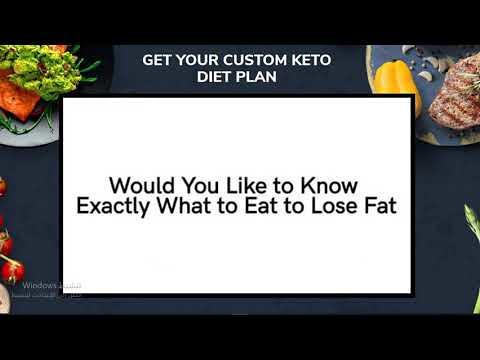 Get Your Custom Keto Diet Plan