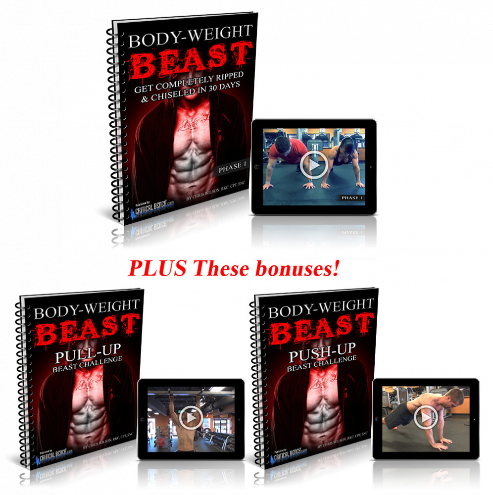 The Bodyweight Beast Program and Bonuses