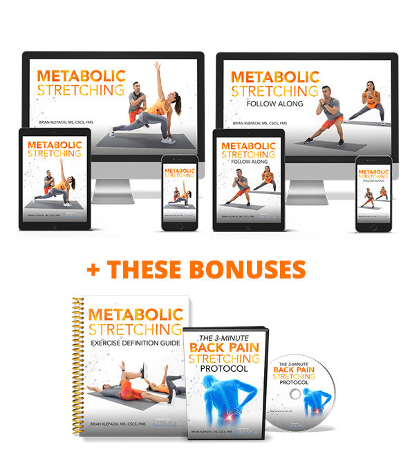 The Metabolic Stretching Program and Bonuses