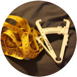 Calipers and a Tape Measure to Calculate Body Fat Percentage