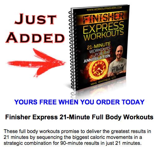 The Finishers Express Workouts PDF