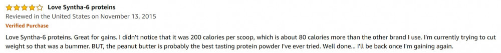 What Is The Best Tasting Protein Powder - amazon review 3
