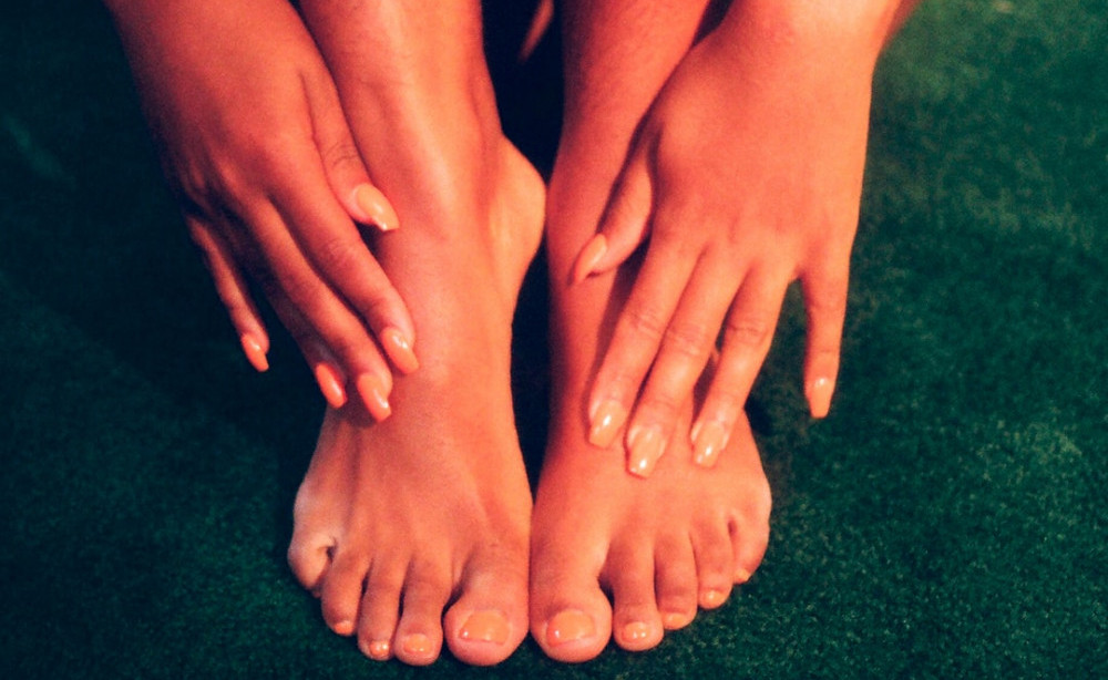 What a foot bath can do for you - aching feet