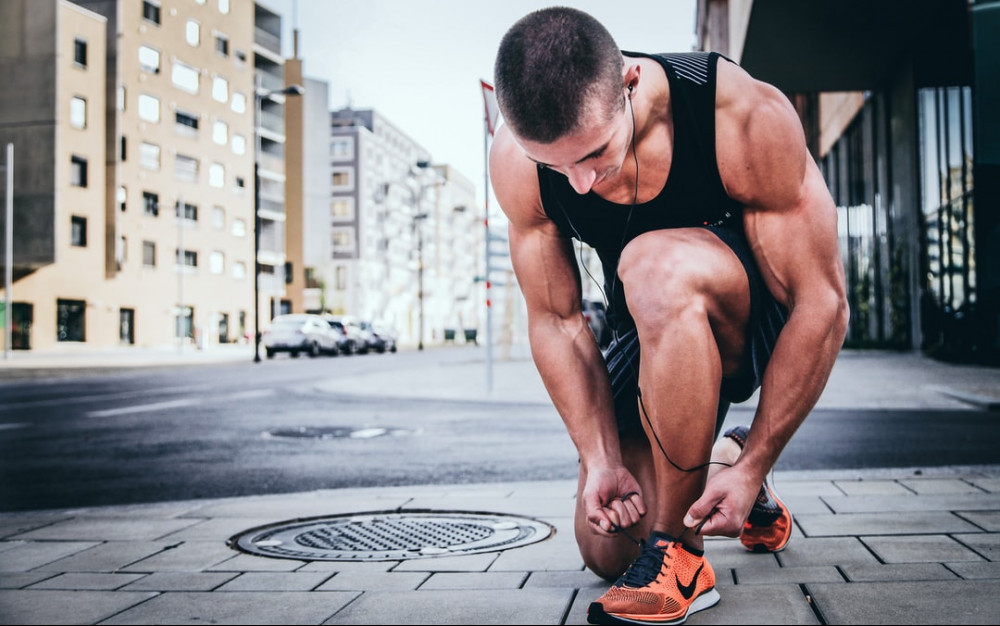 If someone tells you you can't do something prove them wrong - man getting ready for a run