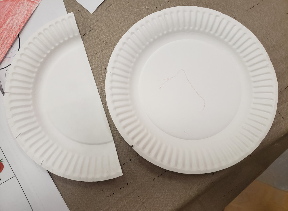 how to get kids to try new foods - paper plates
