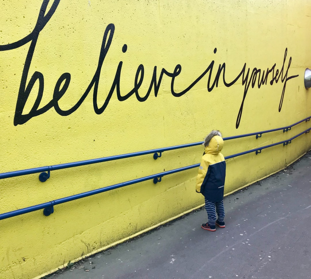 If someone tells you you can't do something prove them wrong - child being inspired