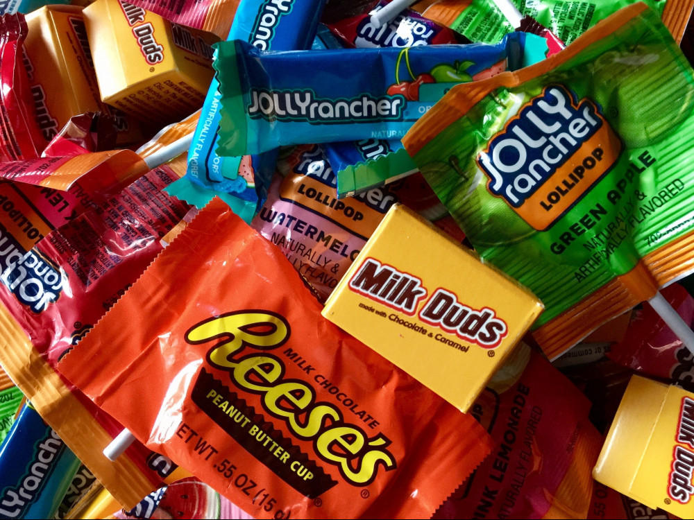 Halloween Candy Guessing Game