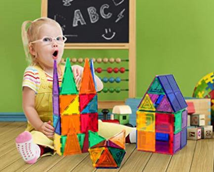 PicassoTiles Magnet Building Tiles