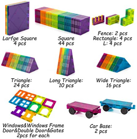 Cossy Kids Magnetic Tiles