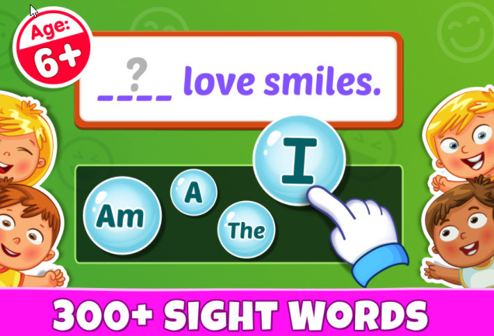 Sight Words App: Reading Games and Best Sight Word Games
