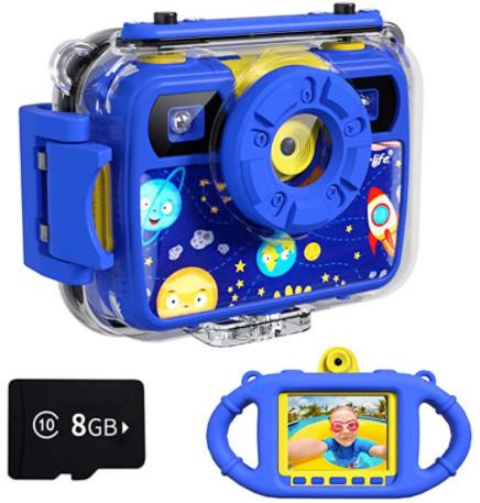 Ourlife Kids Camera, Selfie Waterproof Action Child Gift