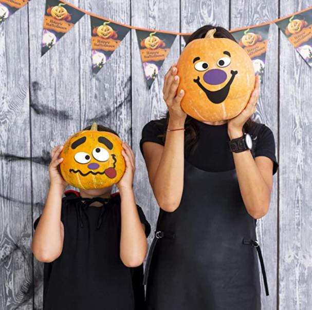 Pumpkin Sticker Decorating Station