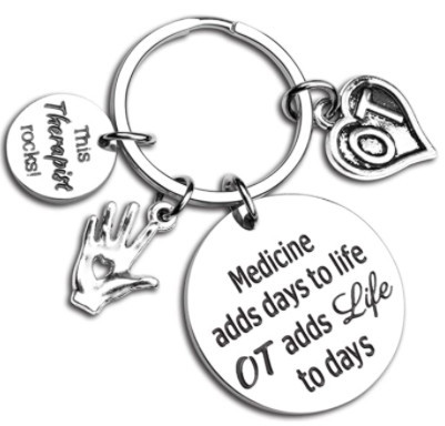 Occupational Therapy Keychain