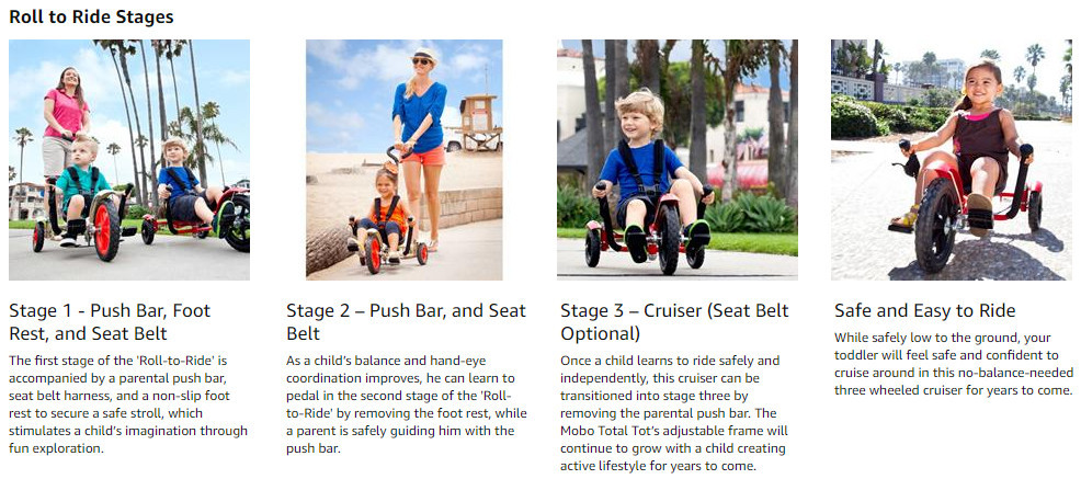 Mobo Cruiser Childrens Tricycle