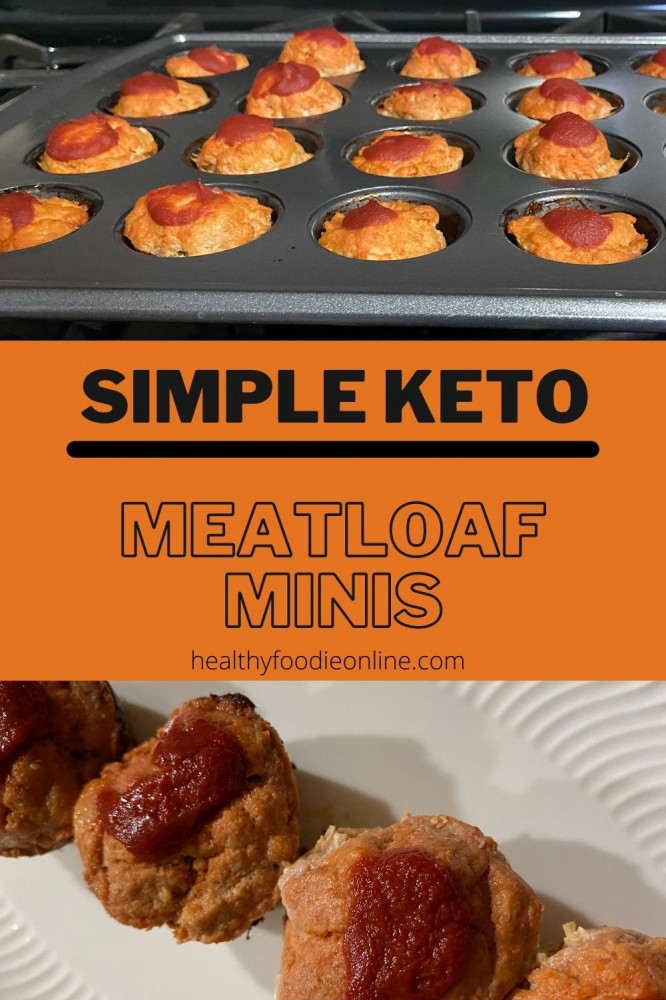 simple keto meatloaf minis