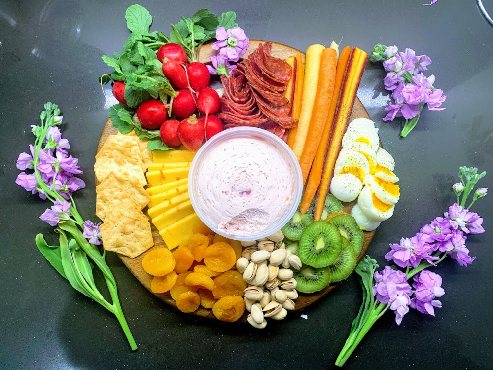 Healthy Easter Charcuterie Board