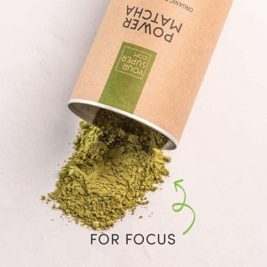 what is power matcha - for focus ad