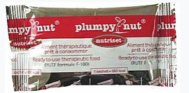 what is action against hunger - plumpy' nut bar