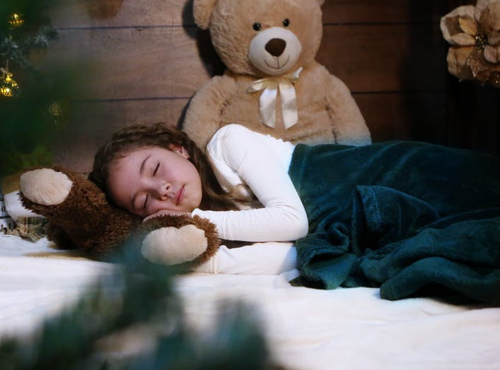 TROUBLE WITH SLEEPING AT NIGHT - young girl sleeping