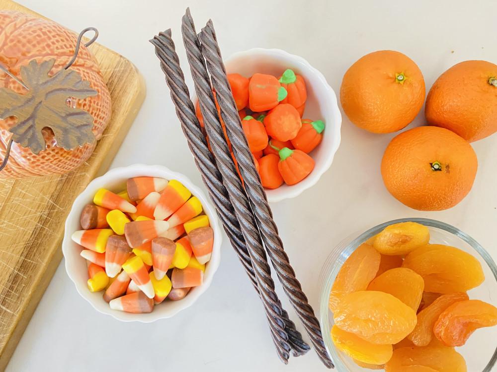 Healthy Halloween Charcuterie Board