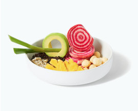 what is avocado a fruit or a vegetable - daily harvest poke bowl