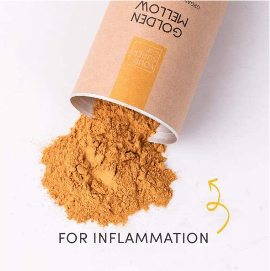 MELLOW YELLOW POWDER-for inflammation