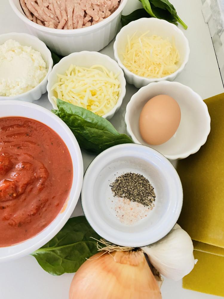 mini spinach lasagna roll ups ingredients