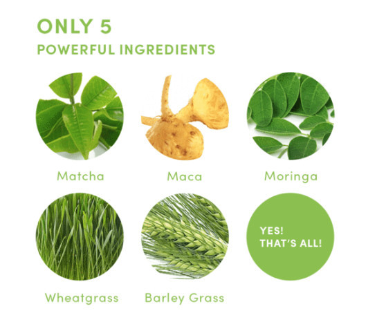 what is power matcha - ingredients