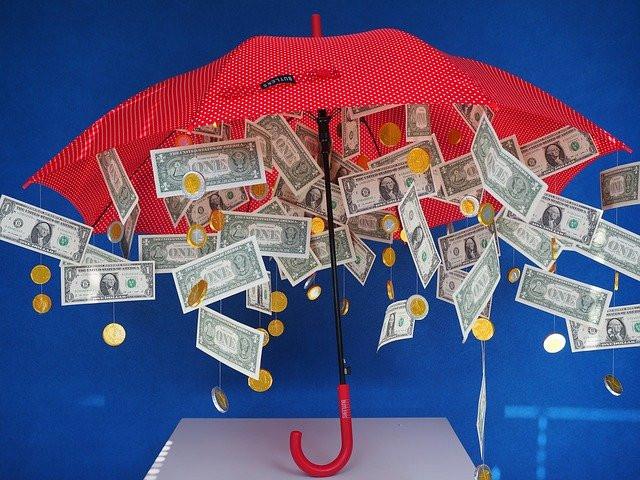 Manifesting Money Umbrella