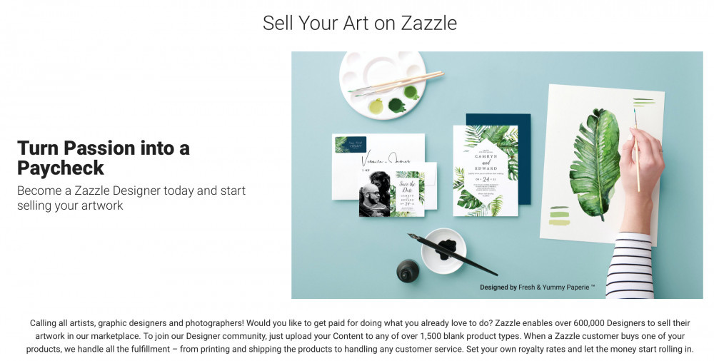 Become a Designer on Zazzle