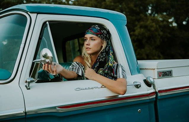 Quotes for Being Positive Girl in Truck