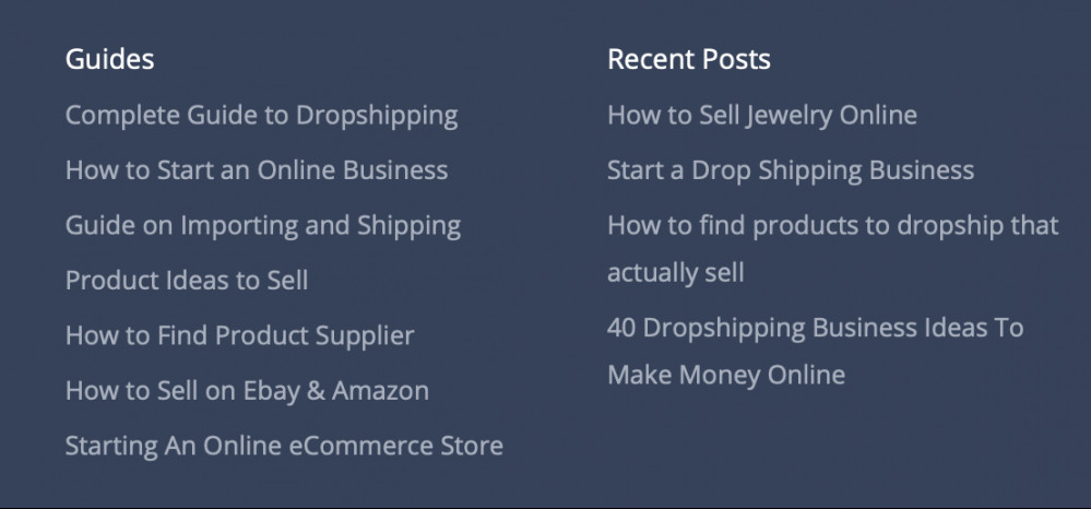 Start a Drop Shipping Business