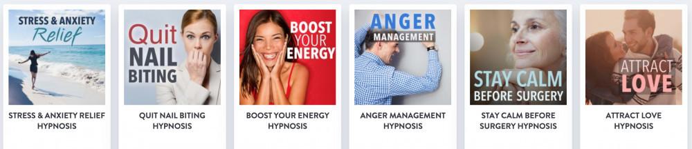 self hypnosis audios