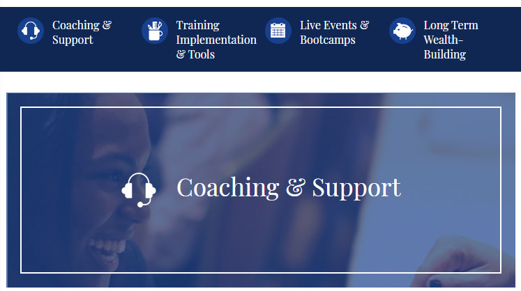 Coaching and Support Program