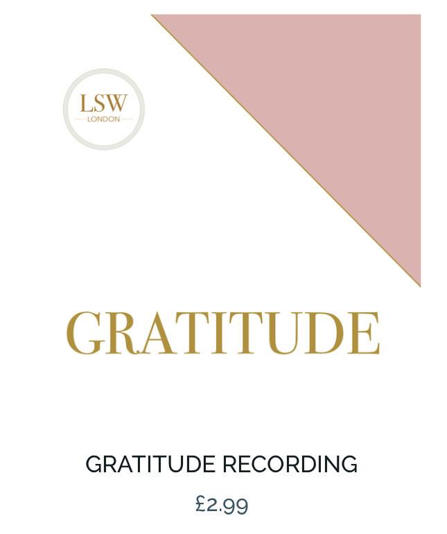 Guided meditation gratitude