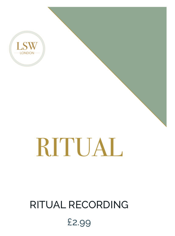guided meditation - ritual