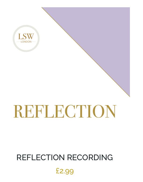 guided meditation reflection