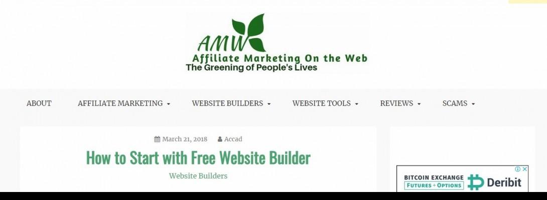 Affiliate Marketing on the Web Logo