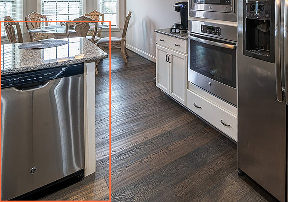 Semi integrated built-in dishwasher | Your Casa Concept