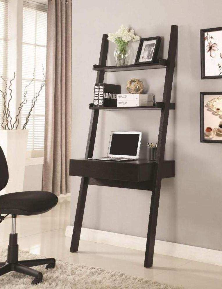 Ladder Desk with shelves   Your Casa Concept