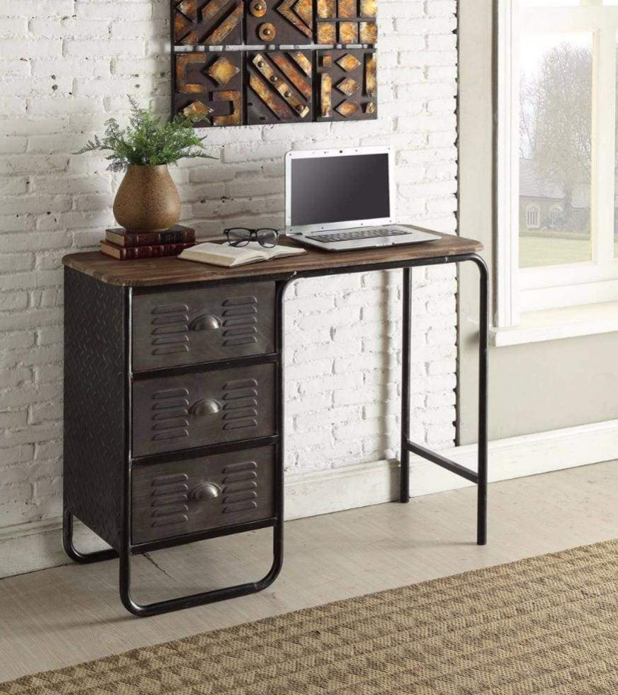 Rustic Locker Desk   Your Casa Concept