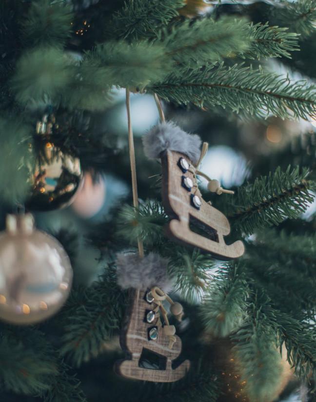 Christmas Wooden Ornament | Your Casa Concept