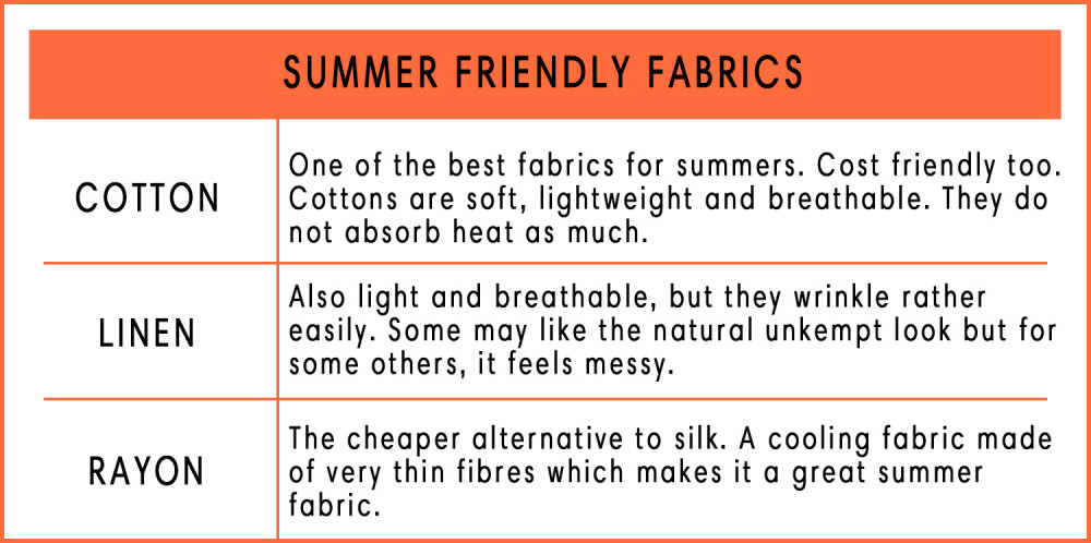Summer Friendly Fabrics | Your Casa Concept