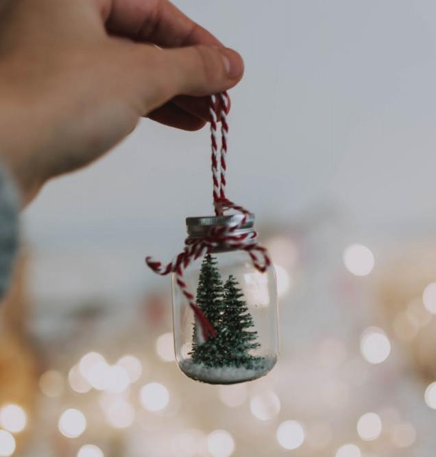 Christmas Glass Ornament | Your Casa Concept