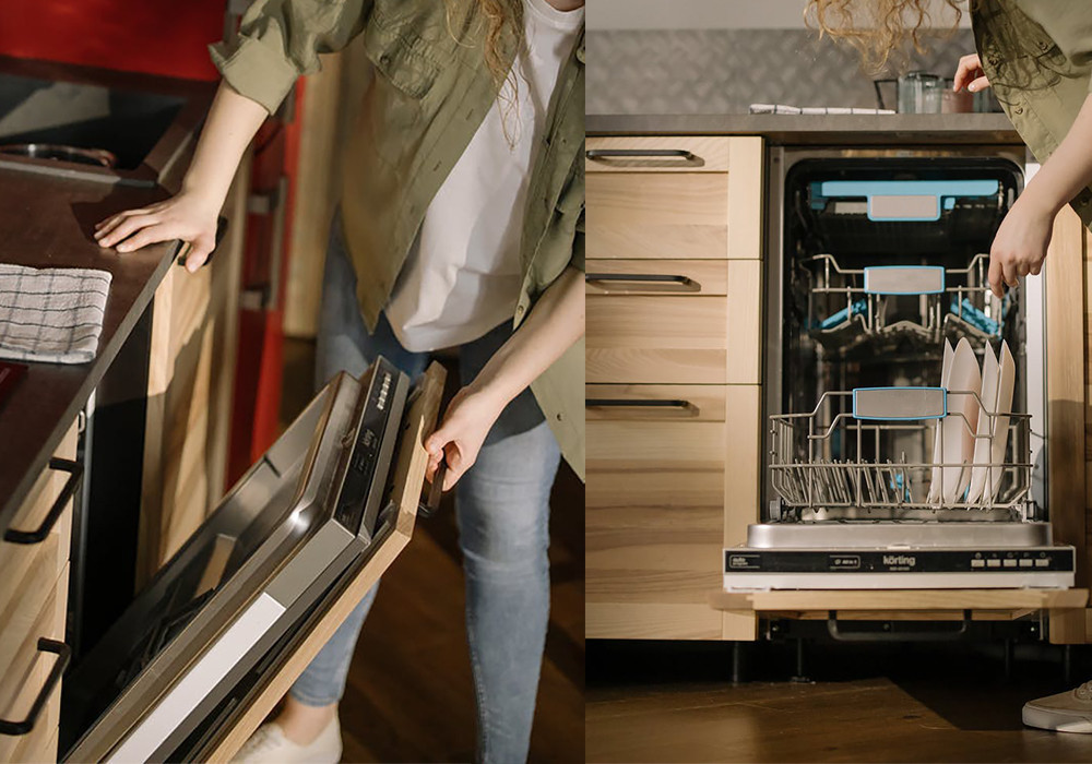 Fully integrated built-in dishwasher | Your Casa Concept