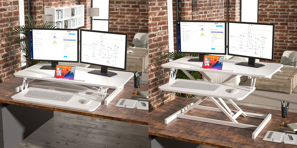On table adjustable desk | Your Casa Concept