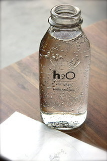 Cold Bottle of H2O